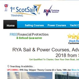 1st Scotsail Training Ltd