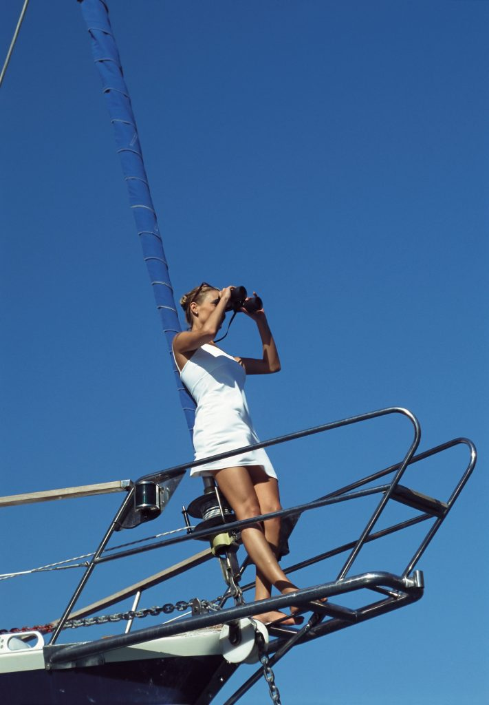 Sailing Women on Yachts